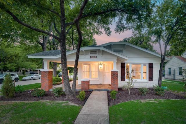 1501 N Sylvania Avenue, Fort Worth, TX 76111 (MLS #14097735) :: RE/MAX Town & Country