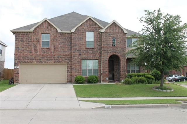 637 Wildriver Trail, Fort Worth, TX 76131 (MLS #14097987) :: Magnolia Realty
