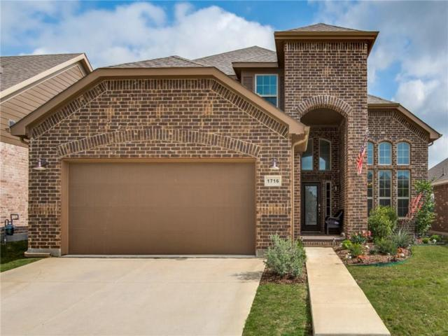 1716 Henderson Drive, Argyle, TX 76226 (MLS #14098085) :: All Cities Realty