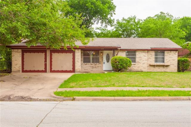 409 Moonlight Drive, Garland, TX 75040 (MLS #14098281) :: Baldree Home Team