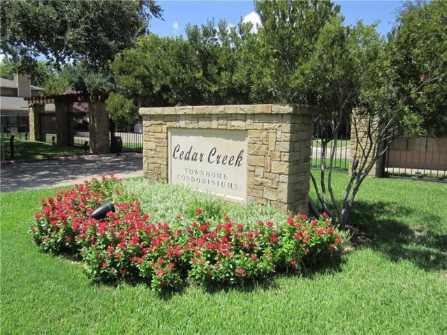 5727 Cedar Creek Drive, Benbrook, TX 76109 (MLS #14098337) :: The Hornburg Real Estate Group