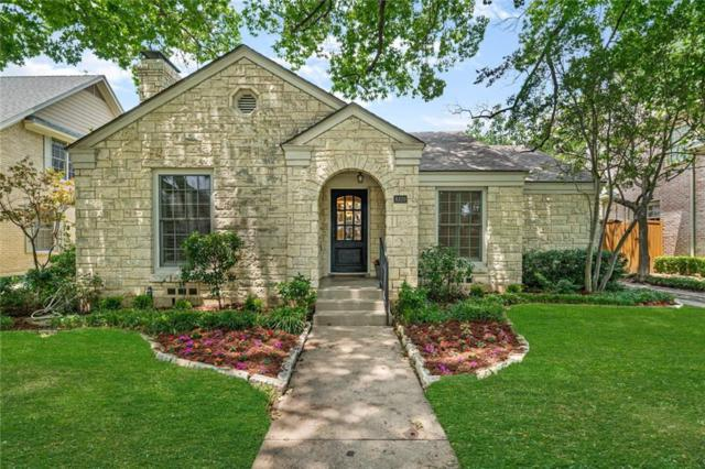 4320 Amherst Avenue, University Park, TX 75225 (MLS #14098572) :: Robbins Real Estate Group