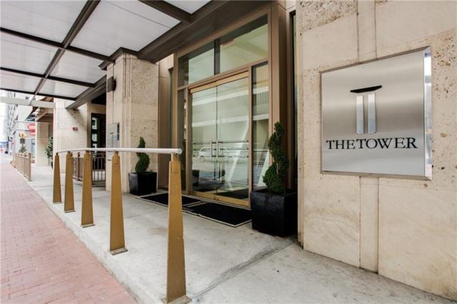 500 Throckmorton Street #1604, Fort Worth, TX 76102 (MLS #14098585) :: The Hornburg Real Estate Group