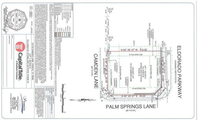 15176 Camden Lane, Frisco, TX 75035 (MLS #14098776) :: Kimberly Davis & Associates