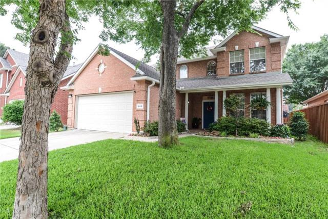 645 W Bella Vista Drive, Coppell, TX 75019 (MLS #14099063) :: RE/MAX Town & Country