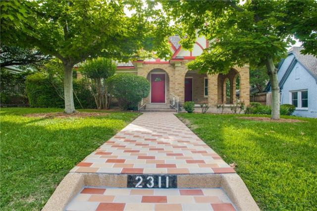 2311 Warner Road, Fort Worth, TX 76110 (MLS #14099065) :: RE/MAX Town & Country