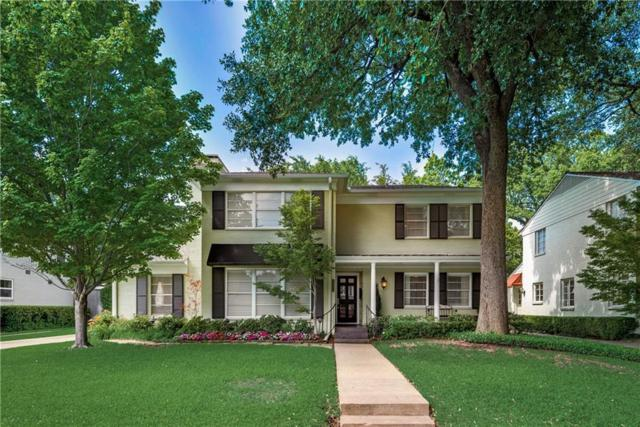 4624 W Beverly Drive, Highland Park, TX 75209 (MLS #14099315) :: HergGroup Dallas-Fort Worth
