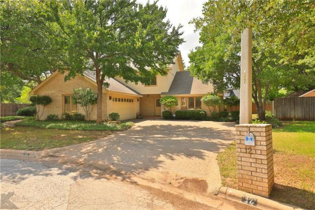 12 Cherry Hills W, Abilene, TX 79606 (MLS #14099333) :: Ann Carr Real Estate