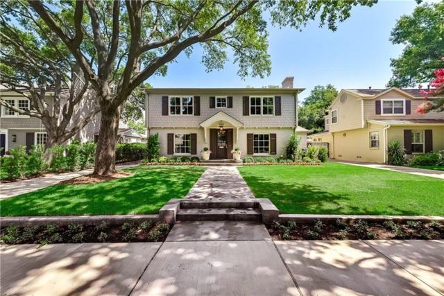 4642 Lorraine Avenue, Highland Park, TX 75209 (MLS #14099380) :: Robbins Real Estate Group