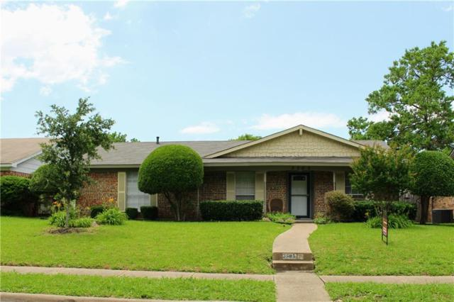 3505 Cheyenne Trail, Garland, TX 75044 (MLS #14099691) :: Ann Carr Real Estate