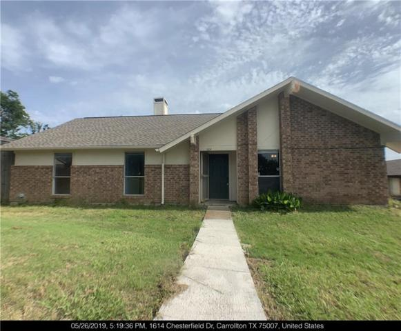 1614 Chesterfield Drive, Carrollton, TX 75007 (MLS #14099923) :: Potts Realty Group