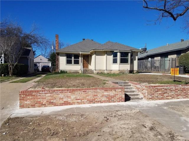 4904 Pershing Avenue, Fort Worth, TX 76107 (MLS #14099956) :: Potts Realty Group