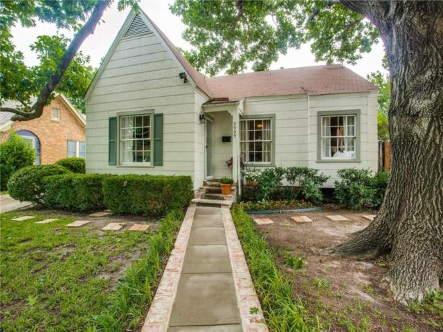 2909 Willing Avenue, Fort Worth, TX 76110 (MLS #14100525) :: Lynn Wilson with Keller Williams DFW/Southlake