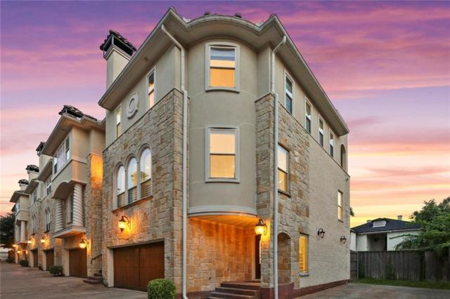 3907 Cole Avenue #6, Dallas, TX 75204 (MLS #14101888) :: Team Hodnett
