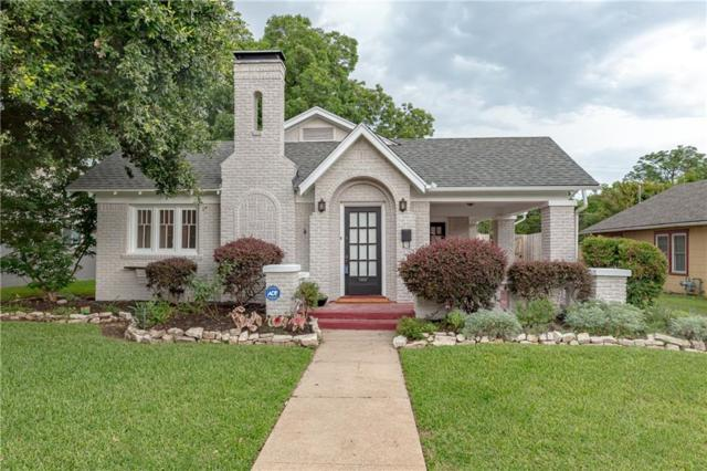 2505 Yucca Avenue, Fort Worth, TX 76111 (MLS #14102378) :: RE/MAX Town & Country