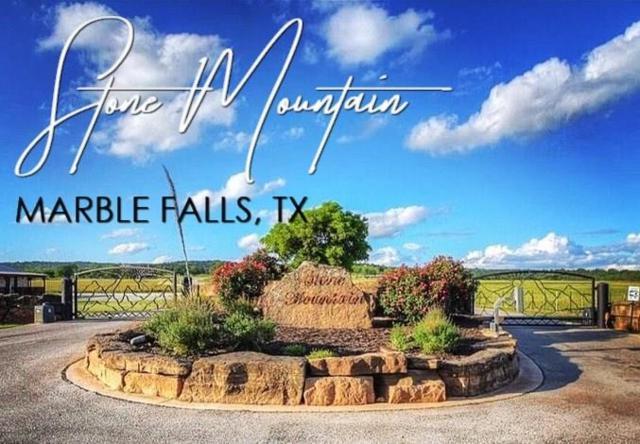 Lot 3b Stone Mountain, Marble Falls, TX 78654 (MLS #14102425) :: The Kimberly Davis Group