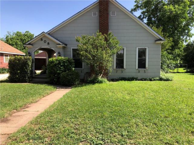 808 E Wells Street, Stamford, TX 79553 (MLS #14102643) :: Baldree Home Team