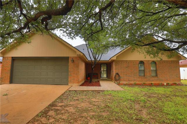 3141 Beacon Hill Road, Abilene, TX 79601 (MLS #14103307) :: The Mitchell Group