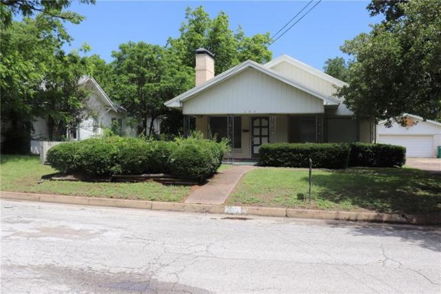 110 E Valley Street, Eastland, TX 76448 (MLS #14103972) :: RE/MAX Town & Country