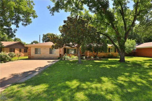2201 Crescent Drive, Abilene, TX 79605 (MLS #14104965) :: The Mitchell Group