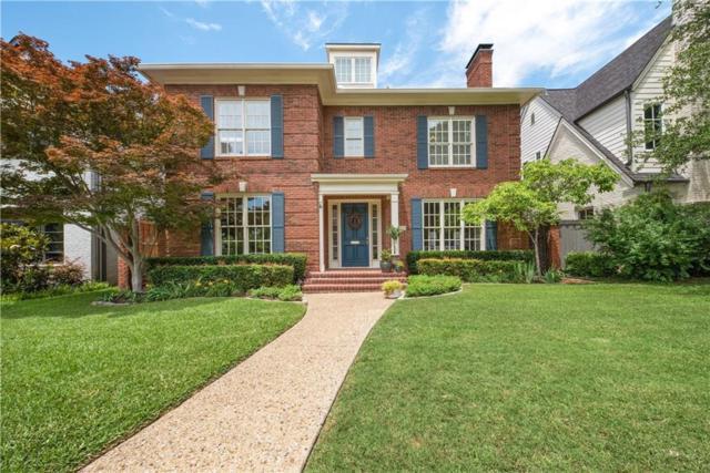 3828 Stanford Avenue, University Park, TX 75225 (MLS #14105195) :: The Hornburg Real Estate Group