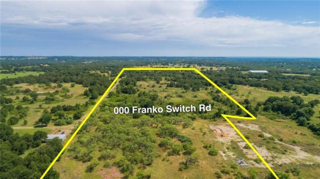 000 Franko Switch Road, Weatherford, TX 76088 (MLS #14106539) :: RE/MAX Town & Country