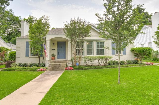 3805 Lenox Drive, Fort Worth, TX 76107 (MLS #14107056) :: The Rhodes Team