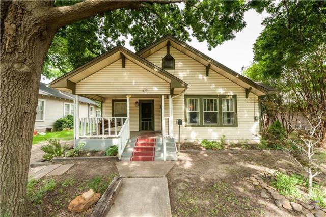 417 Amarillo Street, Denton, TX 76201 (MLS #14107559) :: Vibrant Real Estate