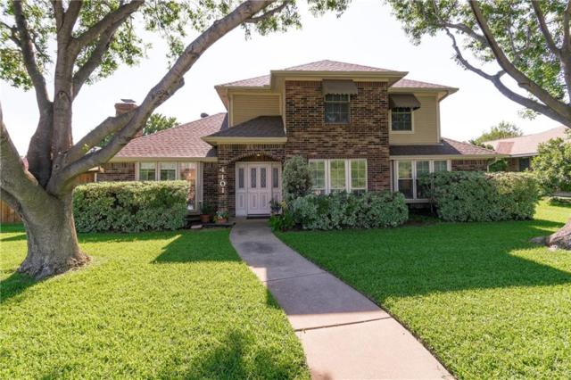 4101 Arbor Creek Drive, Carrollton, TX 75007 (MLS #14107679) :: The Heyl Group at Keller Williams