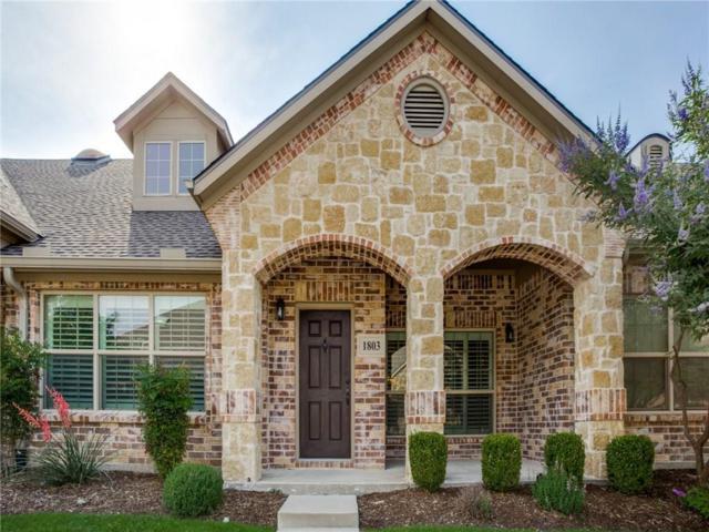3075 Willow Grove Boulevard #1803, Mckinney, TX 75070 (MLS #14108273) :: Team Hodnett