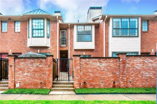 3400 Normandy Avenue G, University Park, TX 75205 (MLS #14108568) :: The Hornburg Real Estate Group