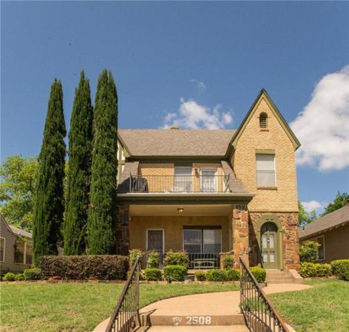 2508 Lubbock Avenue, Fort Worth, TX 76109 (MLS #14108583) :: The Rhodes Team