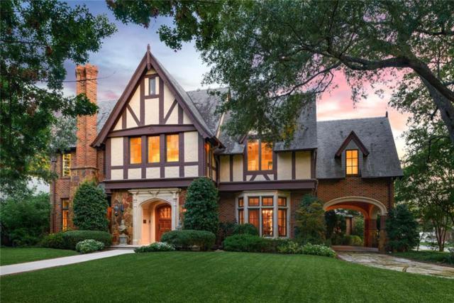 3545 Hanover Street, University Park, TX 75225 (MLS #14108602) :: The Hornburg Real Estate Group