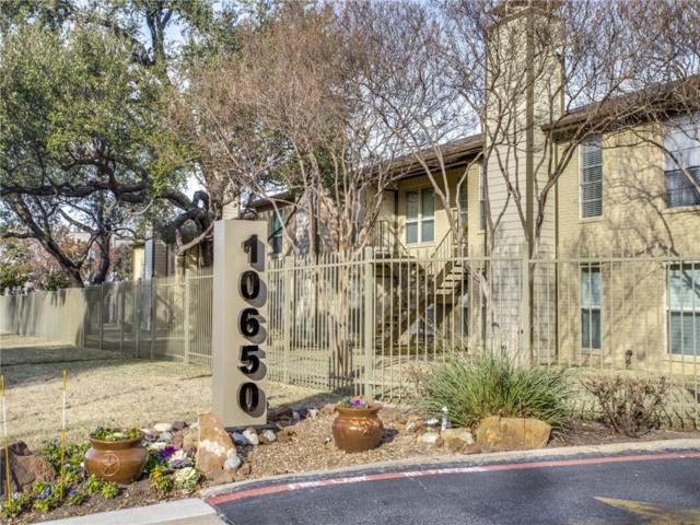 10650 Steppington Drive #133, Dallas, TX 75230 (MLS #14109269) :: Team Hodnett