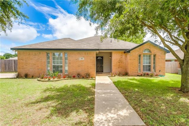 218 Lone Star Street, Joshua, TX 76058 (MLS #14109345) :: The Heyl Group at Keller Williams