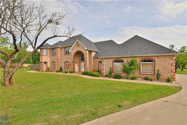 7850 Saddle Creek Road, Abilene, TX 79602 (MLS #14109600) :: The Good Home Team