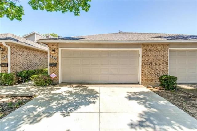 2763 Stonecreek Court, Carrollton, TX 75006 (MLS #14109637) :: The Hornburg Real Estate Group