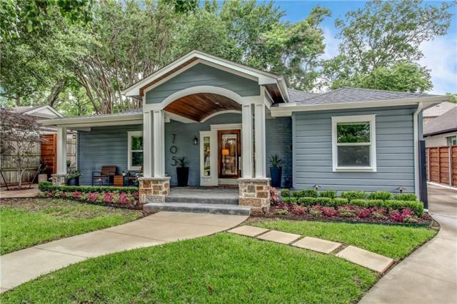 705 N Bailey Avenue, Fort Worth, TX 76107 (MLS #14110365) :: The Heyl Group at Keller Williams