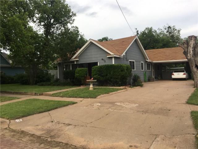 412 N Ave F, Olney, TX 76374 (MLS #14110590) :: Team Tiller