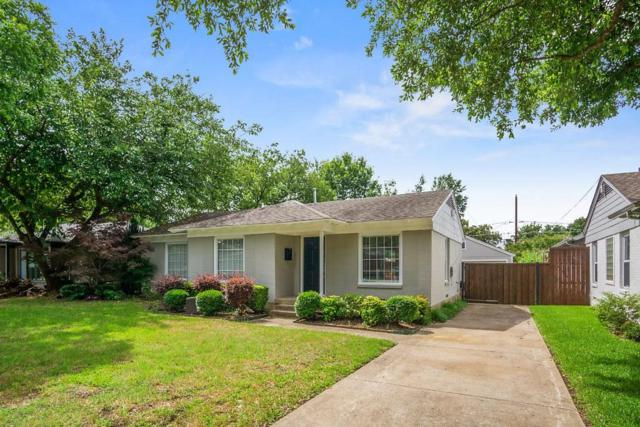 4140 Saranac Drive, Dallas, TX 75220 (MLS #14110611) :: Vibrant Real Estate