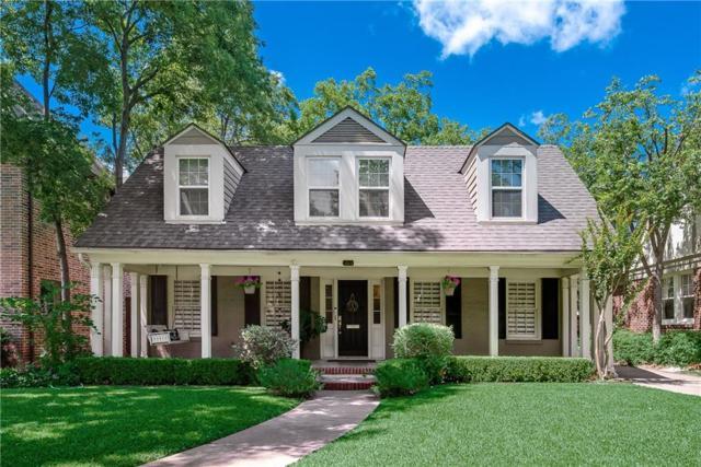 3404 Purdue Avenue, University Park, TX 75225 (MLS #14110698) :: The Hornburg Real Estate Group