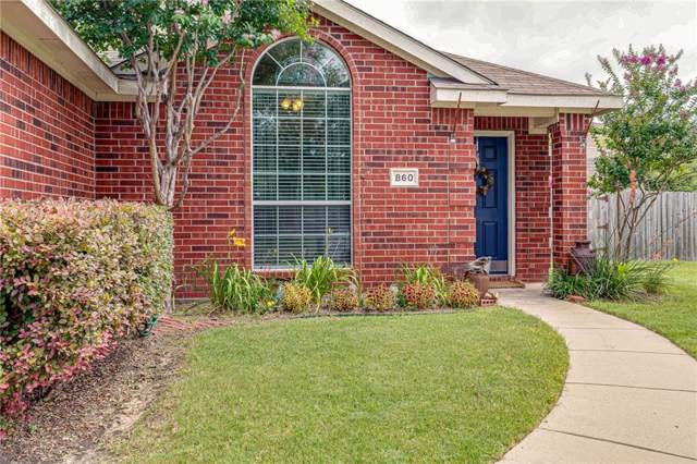 860 Mellanie Court, Celina, TX 75009 (MLS #14110777) :: RE/MAX Town & Country