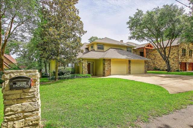 223 Edythe Dee Lane, Mabank, TX 75156 (MLS #14110828) :: RE/MAX Town & Country