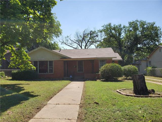 1619 Coleman Avenue, Fort Worth, TX 76105 (MLS #14110832) :: RE/MAX Town & Country