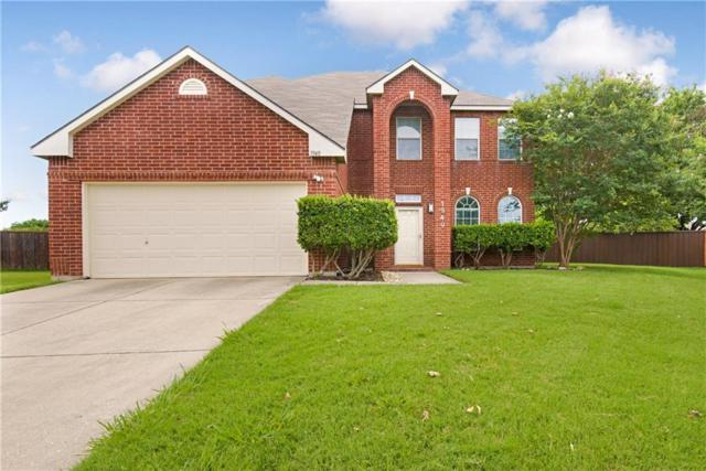 1940 Peppertree Drive, Little Elm, TX 75068 (MLS #14110842) :: The Heyl Group at Keller Williams