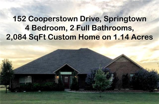152 Cooperstown Drive, Springtown, TX 76082 (MLS #14110998) :: Lynn Wilson with Keller Williams DFW/Southlake