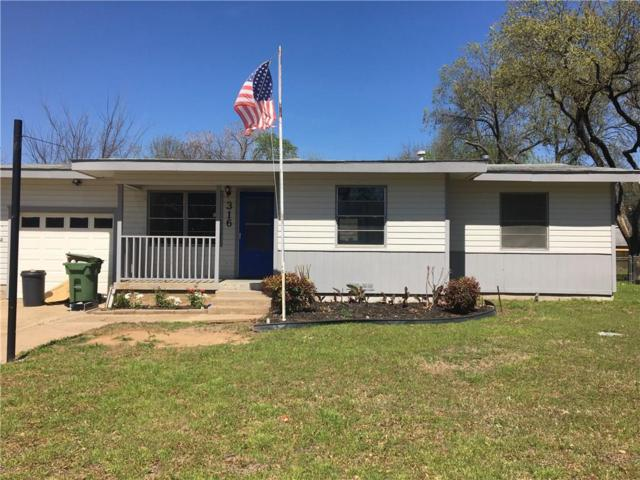 316 W Pecan Street, Hurst, TX 76053 (MLS #14111036) :: Lynn Wilson with Keller Williams DFW/Southlake