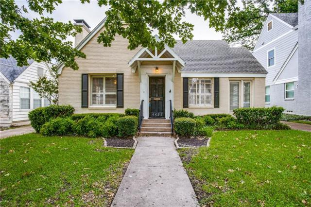 5523 W Amherst, Dallas, TX 75209 (MLS #14111109) :: The Heyl Group at Keller Williams
