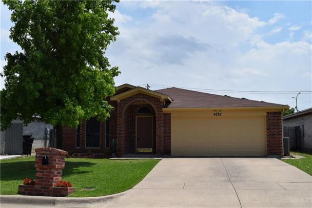 4252 Iris Avenue, Fort Worth, TX 76137 (MLS #14111192) :: Real Estate By Design