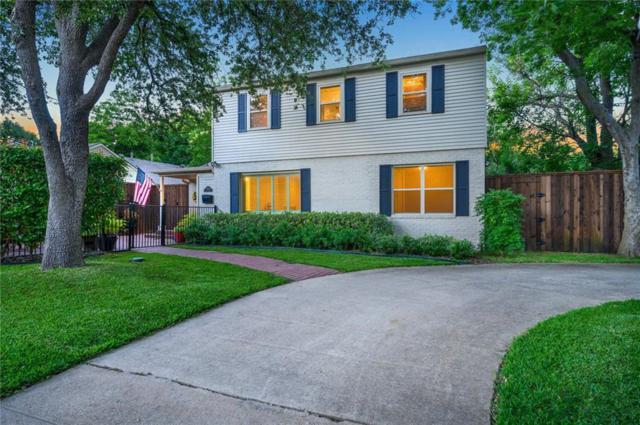 4734 Elsby Avenue, Dallas, TX 75209 (MLS #14111437) :: The Chad Smith Team